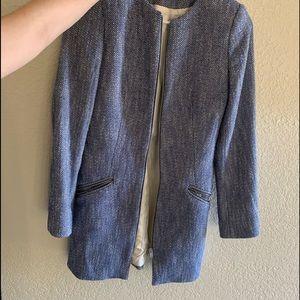 Zara herringbone coat